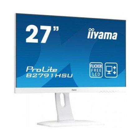 "Iiyama iiyama ProLite B2791HSU-W1 LED display 68,6 cm (27"") Full HD Flat Mat Wit"