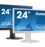 "Iiyama iiyama ProLite B2480HS-W2 LED display 59,9 cm (23.6"") 1920 x 1080 Pixels Full HD Wit"