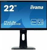 "Iiyama iiyama ProLite B2282HS-B1 computer monitor 54,6 cm (21.5"") 1920 x 1080 Pixels Full HD LED Zwart"