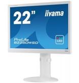 "Iiyama iiyama ProLite B2280WSD-W1 computer monitor 55,9 cm (22"") HD LED Flat Mat Wit"