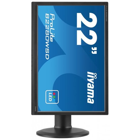 "Iiyama iiyama ProLite B2280WSD-B1 LED display 55,9 cm (22"") Flat Mat Zwart"