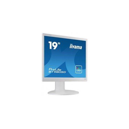 "Iiyama iiyama ProLite B1980SD-W1 LED display 48,3 cm (19"") 1280 x 1024 Pixels Wit"
