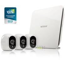 Arlo VMS3330 Video Surveillance (3 x Camera)