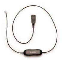 Cord for Alcatel, 500mm + 3.5m telefoonkabel 3,5 m Zwart