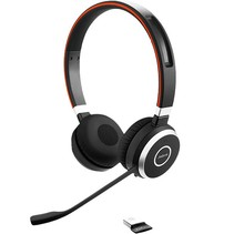 Headset Evolve 65 UC Duo USB inkl. oplader. Bluetooth