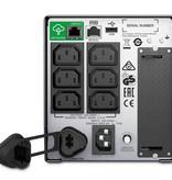 APC APC Smart-UPS SMT750IC - Noodstroomvoeding 6x C13, USB, SmartConnect, 750VA