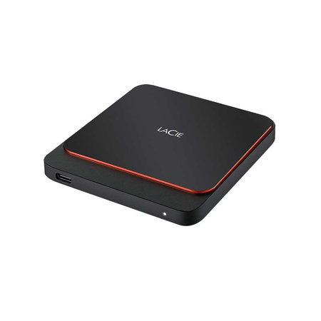 LaCie LaCie STHK1000800 externe solide-state drive 1000 GB Zwart, Oranje