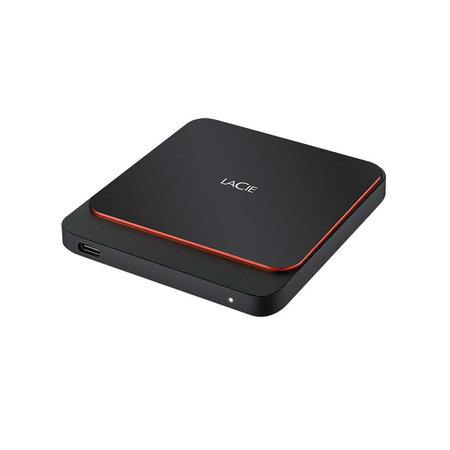 LaCie LaCie STHK500800 externe solide-state drive 500 GB Zwart, Oranje