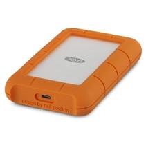 LaCie Rugged USB-C externe harde schijf 5000 GB Grijs, Geel