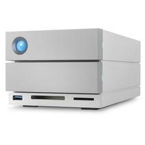 LaCie 2big Dock Thunderbolt 3 disk array 28 TB Desktop Grijs