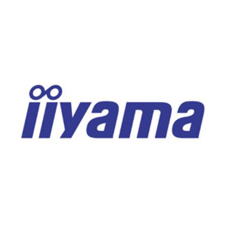 "Iiyama iiyama ProLite TE7503MIS-B1AG touch screen-monitor 189,2 cm (74.5"") 3840 x 2160 Pixels Zwart Multi-touch Multi-gebruiker"