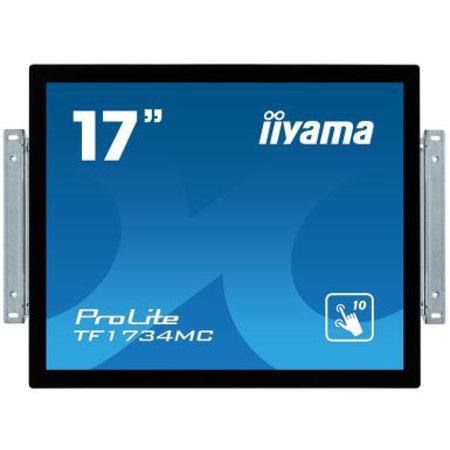 """Iiyama iiyama ProLite TF1734MC-B6X touch screen-monitor 43,2 cm (17"""") 1280 x 1024 Pixels Zwart Multi-touch"""