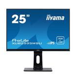"""Iiyama iiyama ProLite XUB2595WSU-B1 LED display 63,5 cm (25"""") Full HD Flat Mat Zwart"""