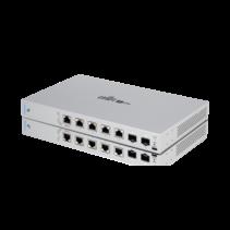 Ubiquiti Networks UniFi US-XG-6POE netwerk-switch Managed 10G Ethernet (100/1000/10000) Grijs 1U Power over Ethernet (PoE)