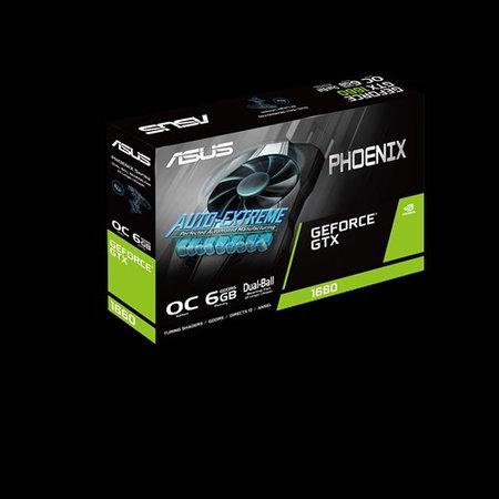 Asus ASUS Phoenix PH-GTX1660-O6G NVIDIA GeForce GTX 1660 6 GB GDDR5
