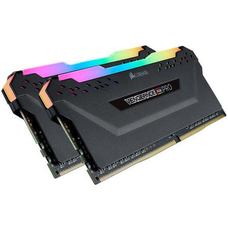 Corsair Corsair Vengeance CMW16GX4M2C3200C16 geheugenmodule 16 GB 2 x 8 GB DDR4 3200 MHz