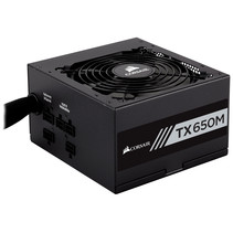 Corsair TX650M power supply unit 650 W 20+4 pin ATX ATX Zwart