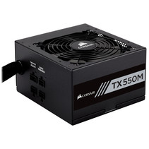 Corsair TX550M power supply unit 550 W 20+4 pin ATX ATX Zwart