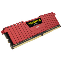 DDR4 16GB PC 2666 CL16 CORSAIR KIT (2x8GB) VengeanceT Red retail