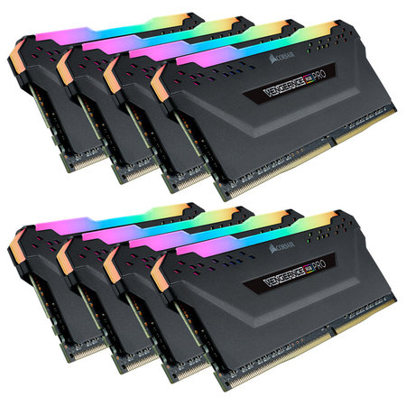 Corsair Corsair Vengeance CMW64GX4M4C3000C15 geheugenmodule 64 GB 4 x 16 GB DDR4 3000 MHz