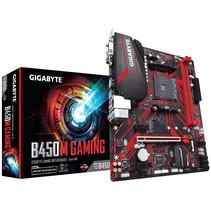 Gigabyte B450M GAMING moederbord Socket AM4 Micro ATX AMD B450