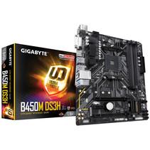 Gigabyte B450M DS3H moederbord Socket AM4 Micro ATX AMD B450