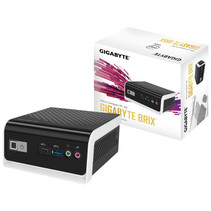 Gigabyte GB-BLCE-4000C PC/workstation barebone N4000 1,10 GHz Zwart, Wit BGA 1090