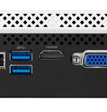 Gigabyte Gigabyte GB-BLCE-4105C PC/workstation barebone J4105 1,50 GHz Zwart, Wit BGA 1090