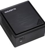 Gigabyte Gigabyte GB-BPCE-3455 PC/workstation barebone J3455 1,50 GHz 0,69L maat pc Zwart BGA 1296