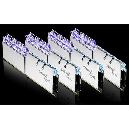 G.Skill G.Skill Trident Z Royal F4-3200C16Q-64GTRS geheugenmodule 64 GB 4 x 16 GB DDR4 3200 MHz