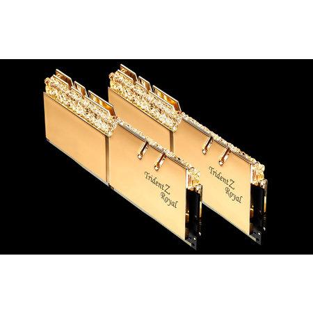 G.Skill G.Skill Trident Z Royal F4-4266C19D-16GTRG geheugenmodule 16 GB 2 x 8 GB DDR4 4266 MHz