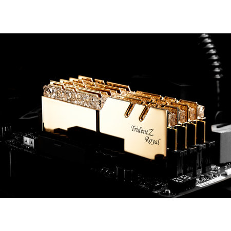 G.Skill G.Skill Trident Z Royal F4-3200C16D-16GTRG geheugenmodule 16 GB 2 x 8 GB DDR4 3200 MHz