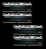 G.Skill G.Skill Sniper X F4-3600C19Q-64GSXWB geheugenmodule 64 GB 4 x 16 GB DDR4 3600 MHz