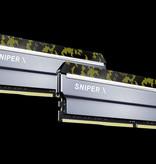 G.Skill G.Skill Sniper X F4-3600C19D-16GSXKB geheugenmodule 16 GB 2 x 8 GB DDR4 3600 MHz