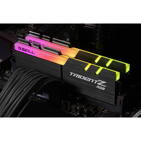 G.Skill G.Skill Trident Z RGB F4-4133C17D-16GTZR geheugenmodule 16 GB 2 x 8 GB DDR4 4133 MHz