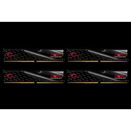 G.Skill G.Skill F4-2400C15Q-64GFT geheugenmodule 64 GB 4 x 16 GB DDR4 2400 MHz