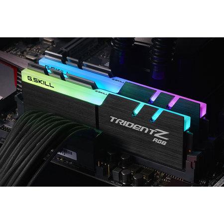 G.Skill G.Skill Trident Z RGB 16GB DDR4 geheugenmodule 2 x 8 GB 4133 MHz