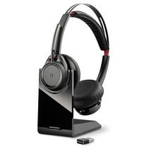 POLY Voyager Focus UC B825 Headset Hoofdband Zwart