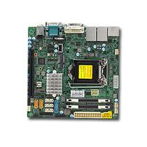 Server MB Super Micro 1xLGA 1151/Mini-ITX/2x1Gb LAN X11SSV-Q zonder OS