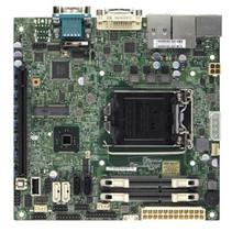 Server MB Super Micro 1xLGA 1150/Mini-ITX/2x1Gb LAN X10SLV-Q zonder OS