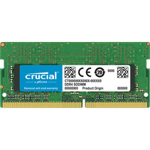 SO DDR4  8GB PC 2666 CL19  Crucial Single Rank retail