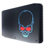 Intel Intel NUC BOXNUC8I7HNK2 PC/workstation barebone i7-8705G 3,1 GHz 1,2L maat pc Zwart BGA 2270