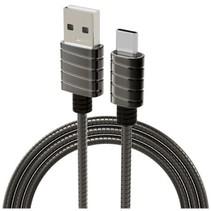 Metallic Type-C Cable (1mtr) Grey