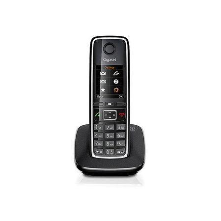 GIGASET Gigaset C530 DECT-telefoon Zwart, Zilver Nummerherkenning