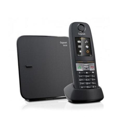 GIGASET Gigaset E630 DECT-telefoon Zwart Nummerherkenning