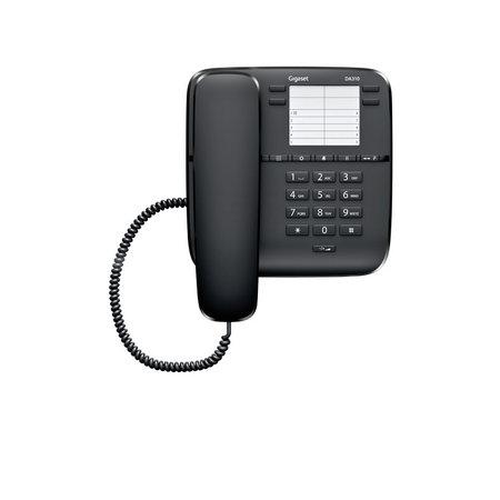 GIGASET Gigaset DA310 Analoge telefoon Zwart