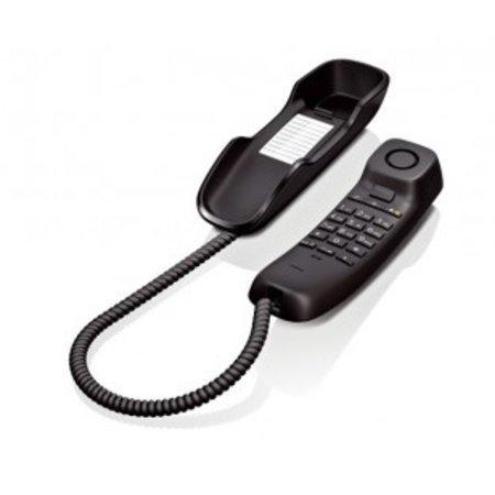 GIGASET Gigaset DA210 Analoge telefoon Zwart