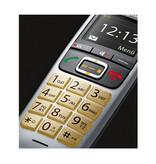 GIGASET Gigaset E560HX Analoge-/DECT-telefoon Zwart Nummerherkenning