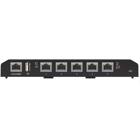 Ubiquiti Ubiquiti EdgeSwitch 5XP Managed Gigabit Ethernet (10/100/1000) Zwart Power over Ethernet (PoE)