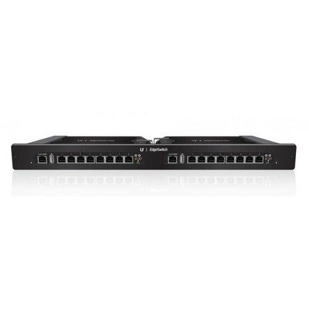 Ubiquiti Ubiquiti TS-16-CARRIER switch Gestionado Gigabit Ethernet (10/100/1000) Negro 1U Energía sobre Ethernet (PoE) - Switch de red (Gestionado, Gigabit Ethernet (10/100/1000), Energía sobre Ethernet (PoE), Montaje en rack, 1U)